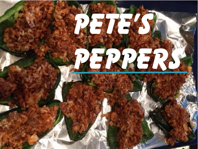 Holly Geraci & Peter Geraci's Pepper recipe