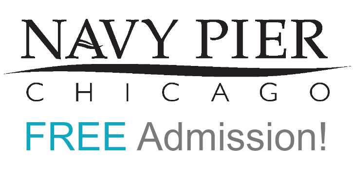 Image of a Navy Pier Logo with Link to home Navy Pier site